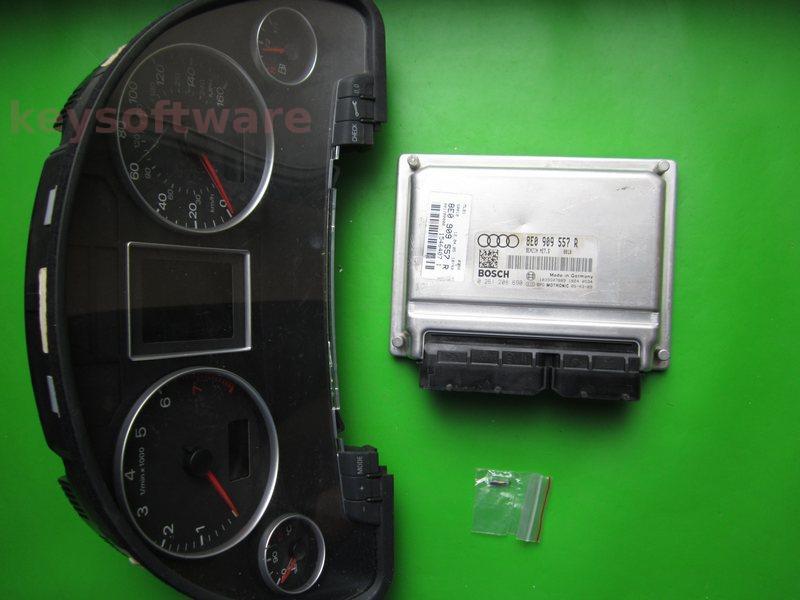 KIT Audi A4 2.0 0261208690 ME7.5 ALT