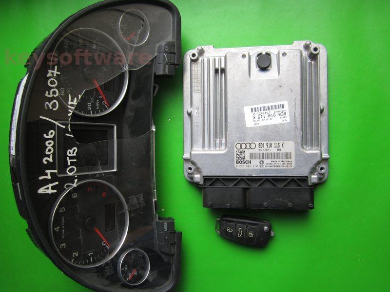 KIT Audi A4 2.0 0261S02210 MED9.1 BWE
