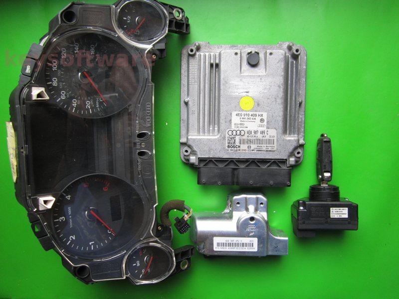 KIT Audi A8 4.0TDI 0281012336 EDC16C4 ASE