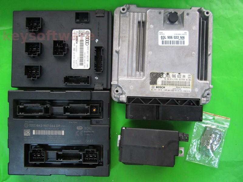 KIT Audi A4 2.0TDI 0281016140 EDC17CP20 CAGA