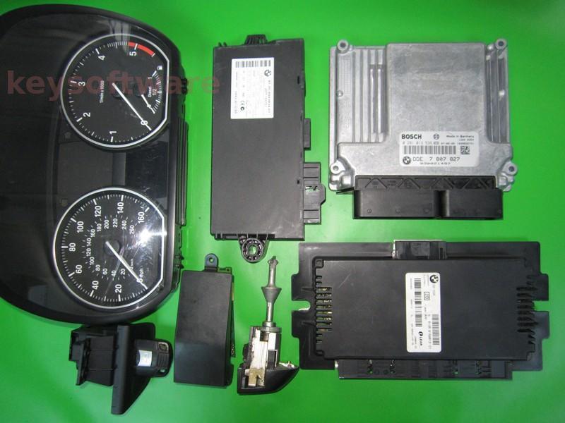 KIT Bmw 320D DDE7807827 0281013536 EDC17CP02 E90