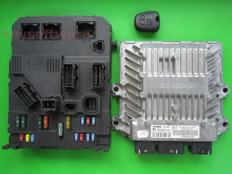 KIT Citroen C2 1.4HDI 9654925380 5WS40111E-T SID804