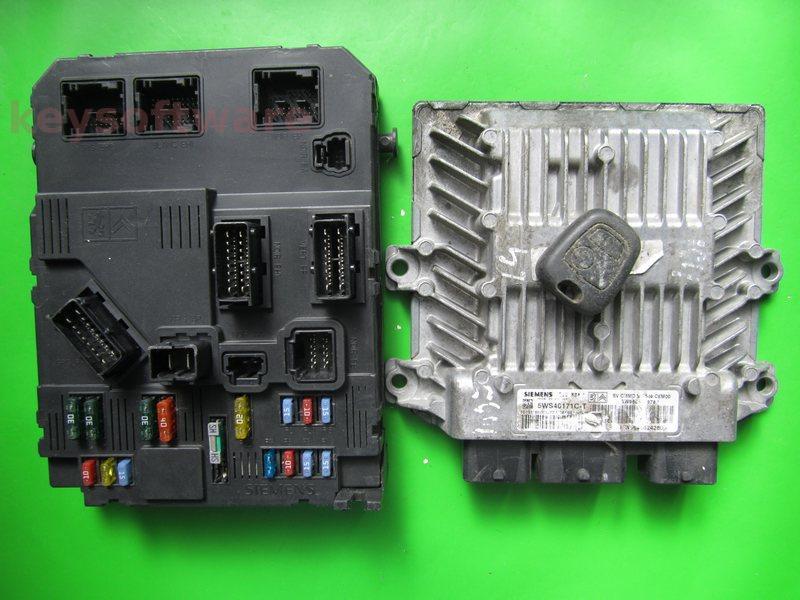 KIT Peugeot 1007 1.4HDI 5WS40171C-T SID804