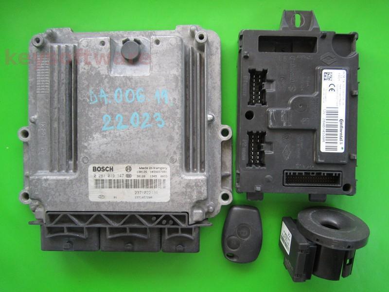 KIT Dacia Dokker 1.5DCI 0281019147 EDC17C42