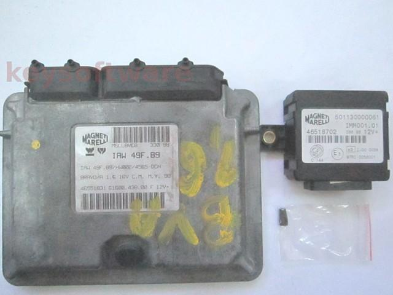 KIT Fiat Bravo 1.6 46551831 6160043800 IAW 49F.B9