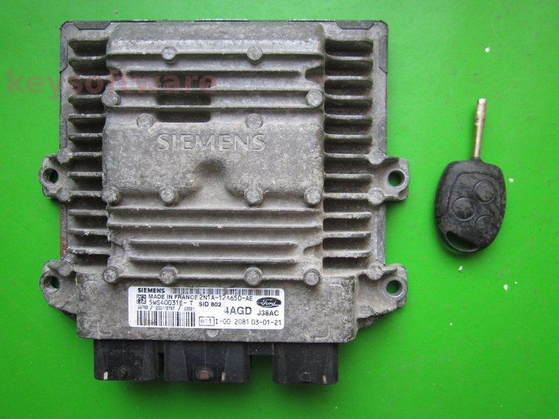 KIT Ford Fusion 1.4TDCI 2N1A-12A650-AE SID802~