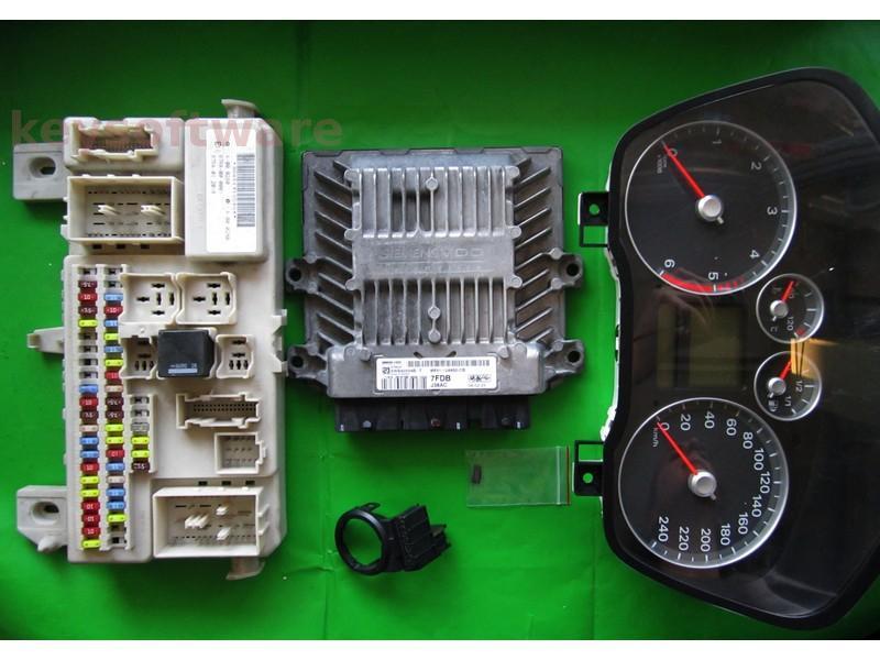 KIT Ford Focus 2.0TDCI 8M51-12A650-CB SID803A