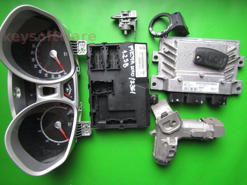 KIT Ford Fiesta 1.25 AV21-12A650-CD EMS2102