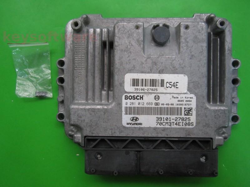 KIT Hyundai Santa Fe 2.2CRDI 39101-27825 0281012669 EDC16C39 D4E