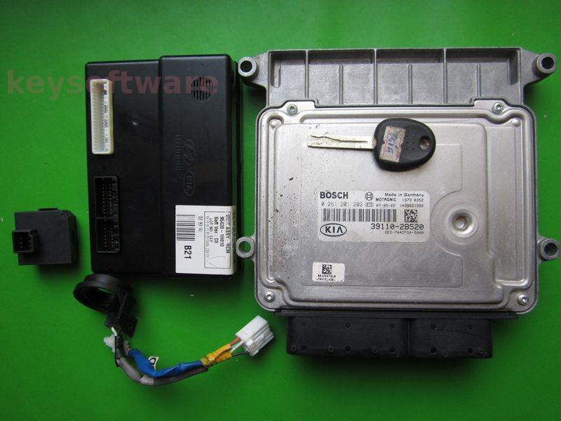 KIT Kia Ceed 1.4 39110-2B520 0261201202 M7.9.8