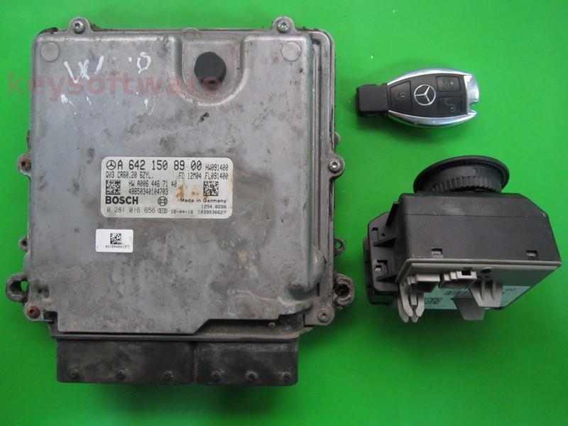 KIT Mercedes CLS 3.5CDI A6421508900 0281016656 CR60.20 EDC17CP46