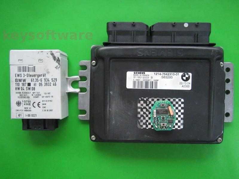 KIT Mini Cooper 1.6 7542310 S118012003B EMS2
