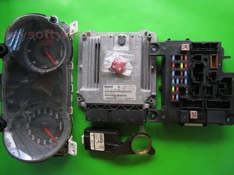 KIT Mitsubishi Lancer 2.0DID 1860A579 0281014586 EDC16U31