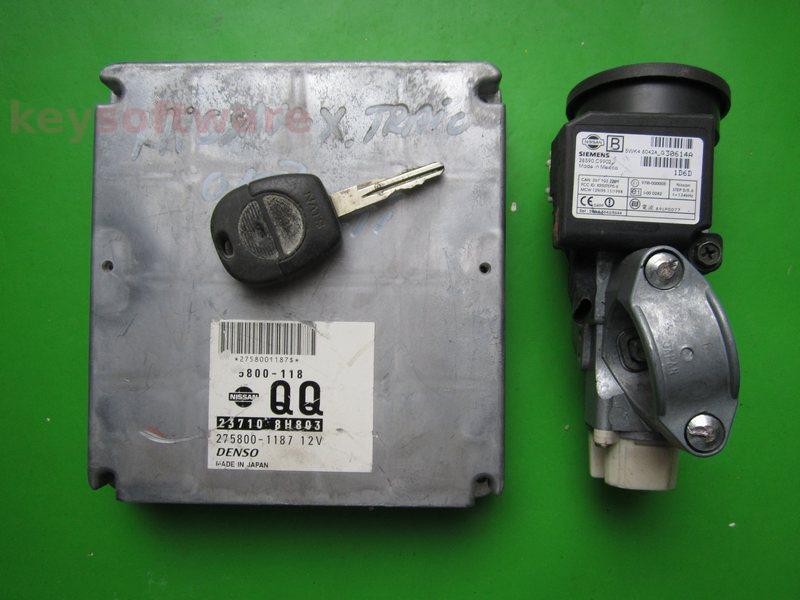 KIT Nissan X-Trail 2.2DCI 275800-1187 23710 8H803