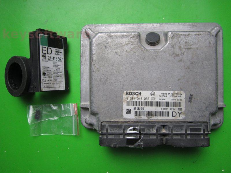 KIT Opel Astra G 2.0DTI 0281010050 EDC15M1