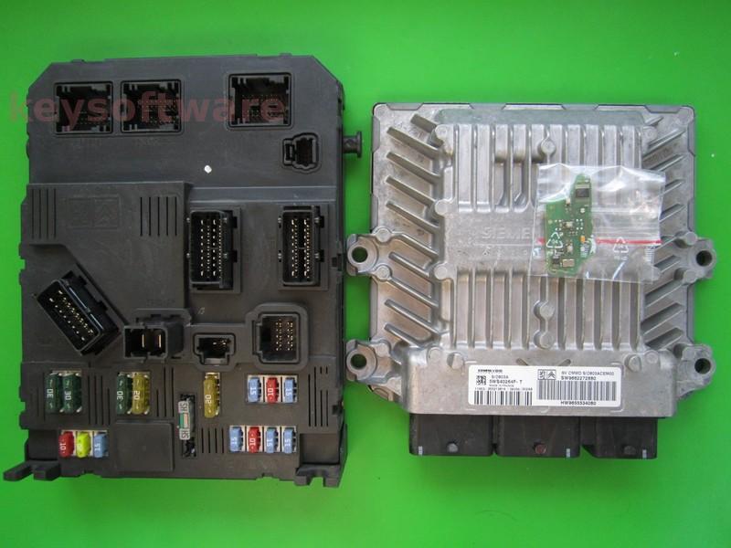 KIT Peugeot 407 2.0HDI 9662272880 5WS40264F-T SID803A