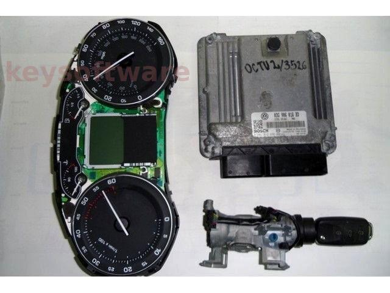 KIT Skoda Octavia 1.9TDI 03G906016BD 0281012236 EDC16U1 BKC