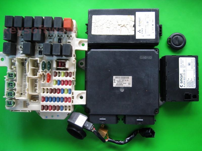 KIT Smart ForFour 1.1 1860A441 E6T42483 A1341501079