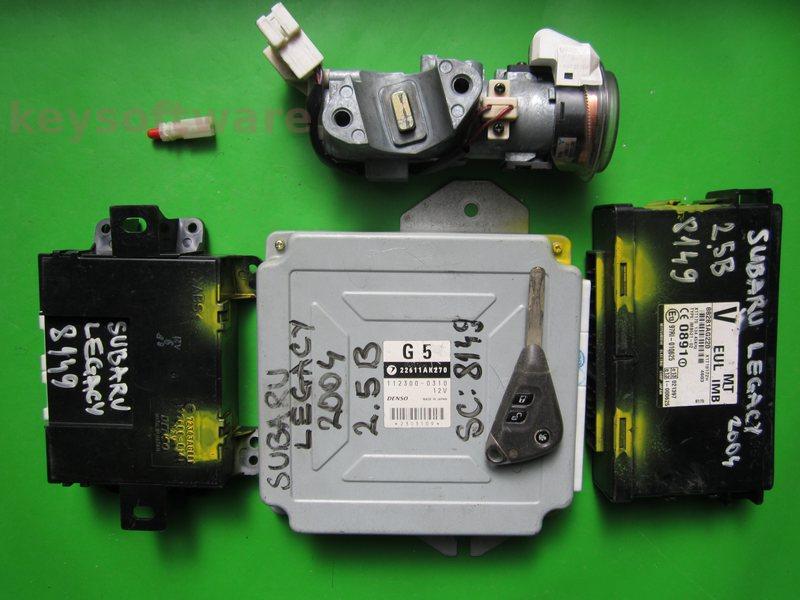 KIT Subaru Legacy 2.5 22611AK270 112300-0310