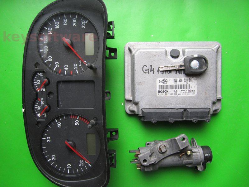 KIT VW Golf4 1.9TDI 0281001846 EDC15V AHF