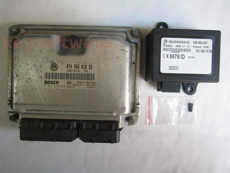 KIT VW LT 2.5TDI 0281010638 EDC15VM+ BBF 95CP