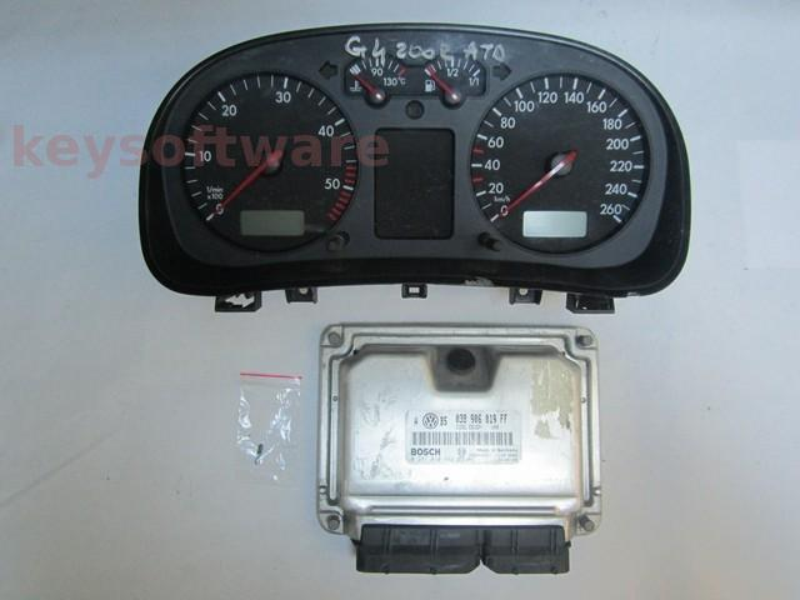 KIT VW Golf4 1.9TDI 0281010662 EDC15P+ ATD