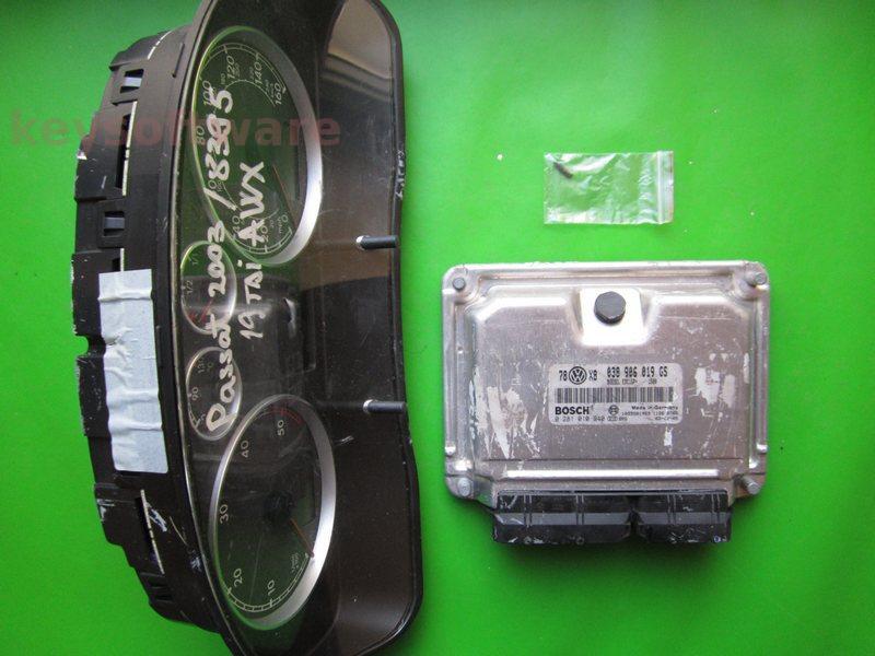 KIT VW Passat 1.9TDI 0281010940 EDC15P+ AWX