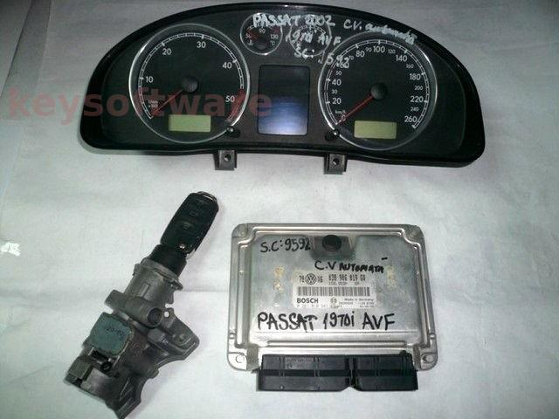 KIT VW Passat 1.9TDI 0281010941 EDC15P+ AVF