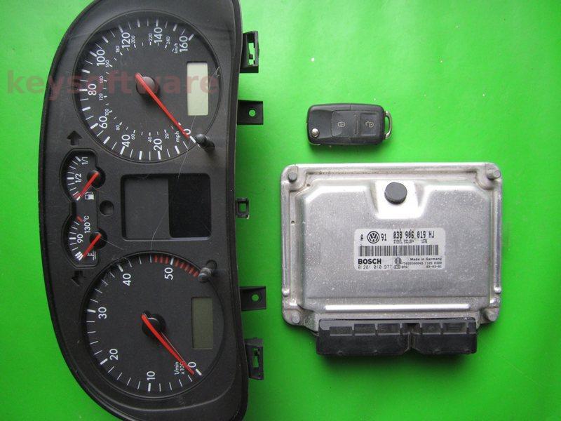 KIT VW Golf4 1.9TDI 0281010977 EDC15P+ ASZ