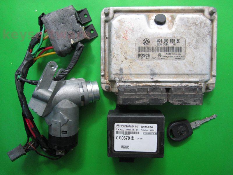 KIT VW LT 2.5TDI 0281011385 EDC15VM