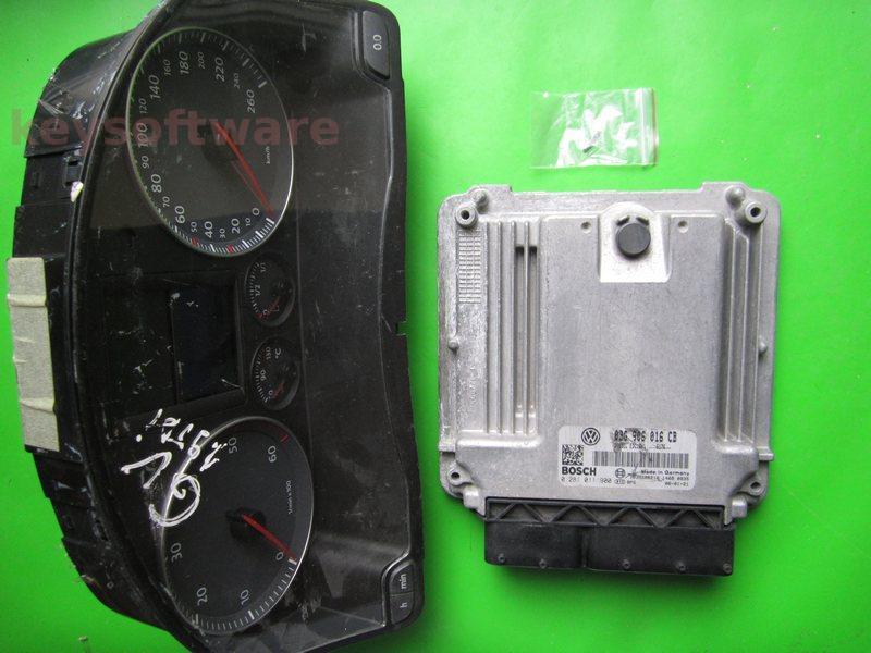 KIT VW Golf5 1.9TDI 0281011900 EDC16U1 BKC