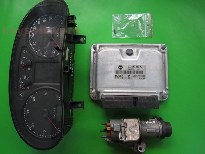 KIT VW Polo 1.4TDI 045906019BP 0281012194 EDC15P+