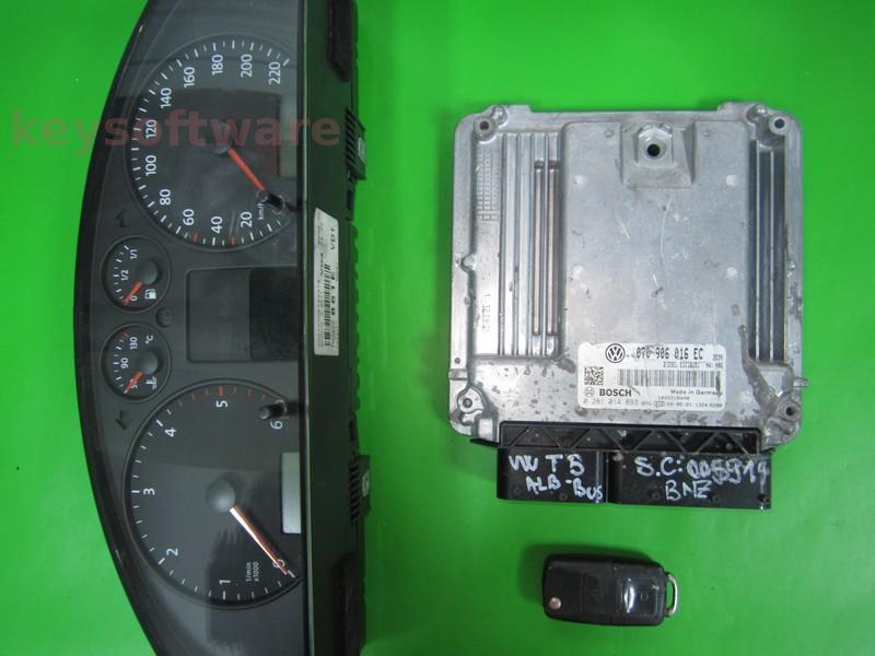 KIT VW T5 2.5TDI 0281014893 EDC16U31