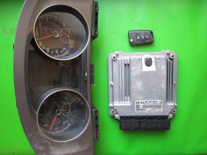 KIT VW Golf7 1.6TDI 0281018510 EDC17C64