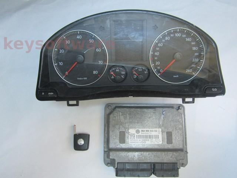 KIT VW Golf5 1.6 06A906033GG SIMOS 7.1A BSE