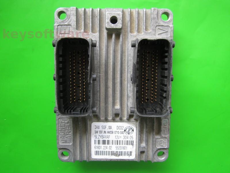 Defecte Ecu Fiat Doblo 1.4 55201831 IAW 5SF.MA