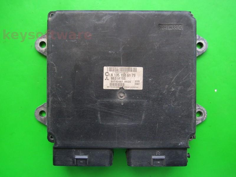 Defecte ECU Mitsubishi Colt 1.3 8631A188 A1351506179