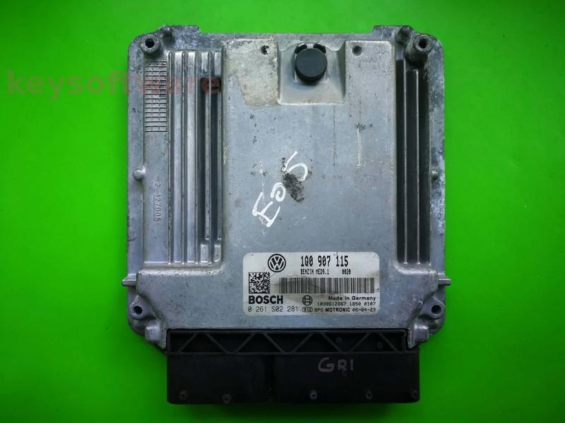 Defecte Ecu VW Eos 2.0 1Q0907115 0261S02281 MED9.1 BWA