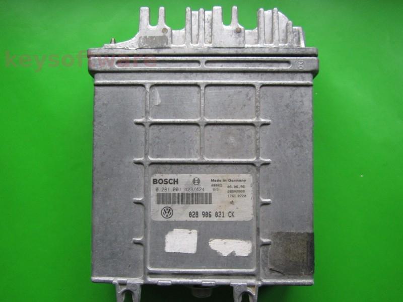 Defecte ECU VW Passat 1.9TDI 028906021CK 0281001423 MSA15.5