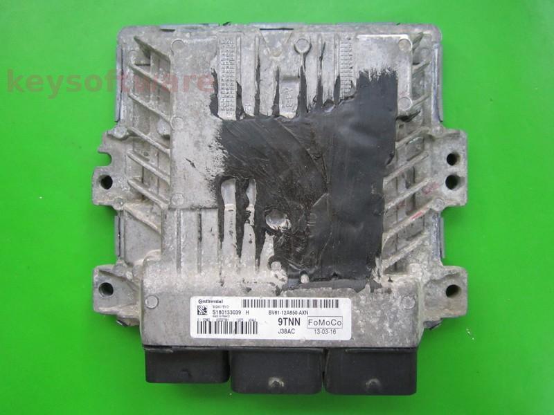 Defecte Ecu Ford Focus 1.6TDCI BV61-12A650-AXN SID807EVO