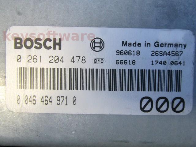 ECU Alfa Romeo 145 2.0 46464971 0261204478 M2.10.4 {