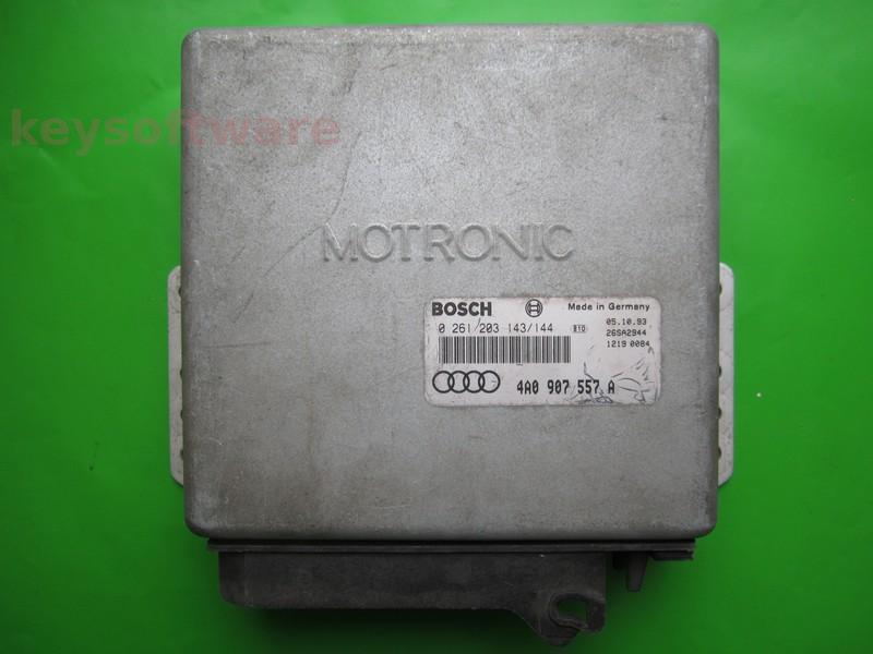 ECU Audi 100 4.2 4A0907557A 0261203143 M2.4.1