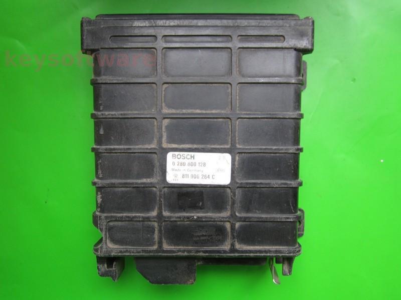 ECU Audi 100 2.2 811906264C 0280800128 KE2.5