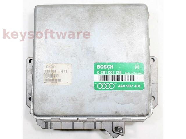 ECU Audi 100 2.5TDI 4A0907401 0281001128 EDC1.2.6 {