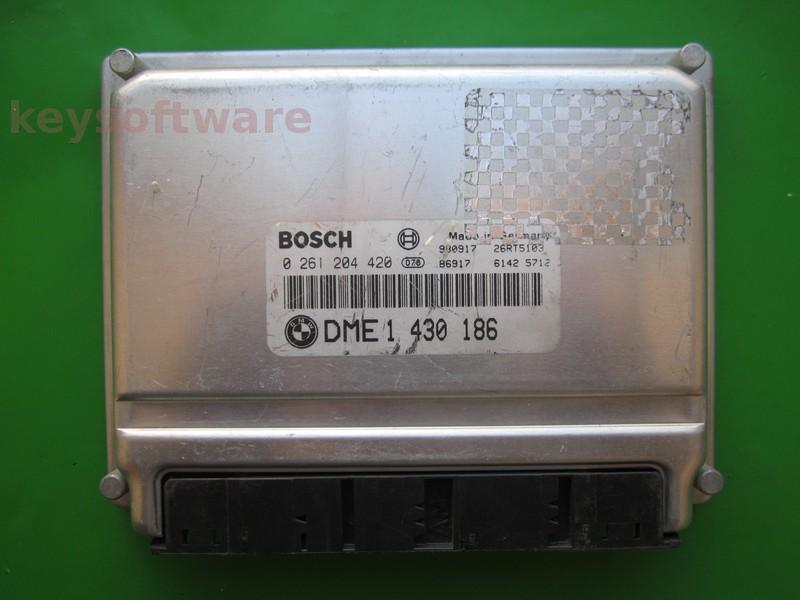 ECU Bmw 318 DME1430186 0261204420 BMS46 E46