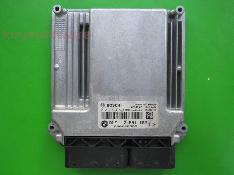 ECU Bmw 116 DME7591162 0261S04523 ME17.2.1