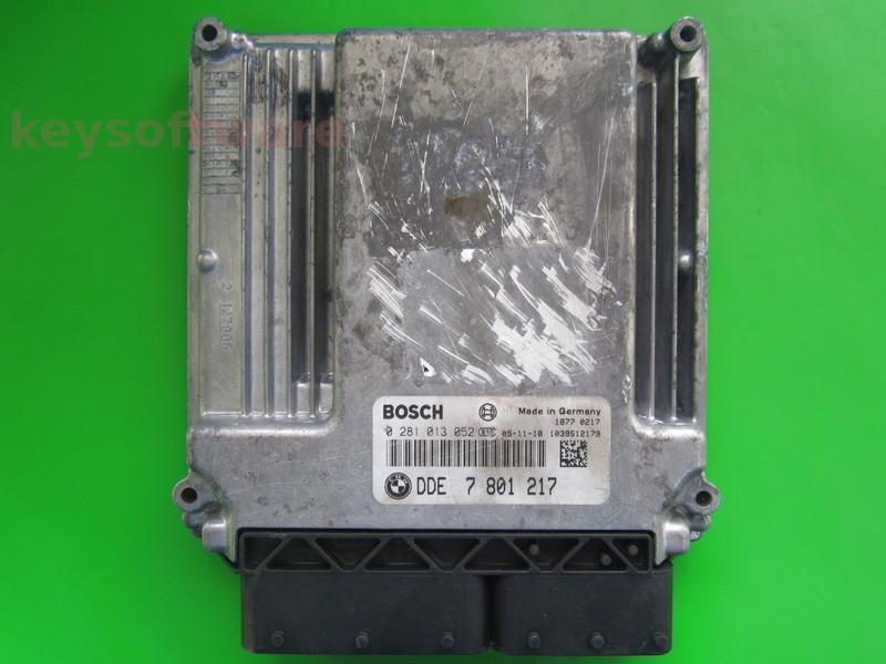 ECU Bmw X3 3.0D DDE7801217 0281013052 EDC16C35 E83
