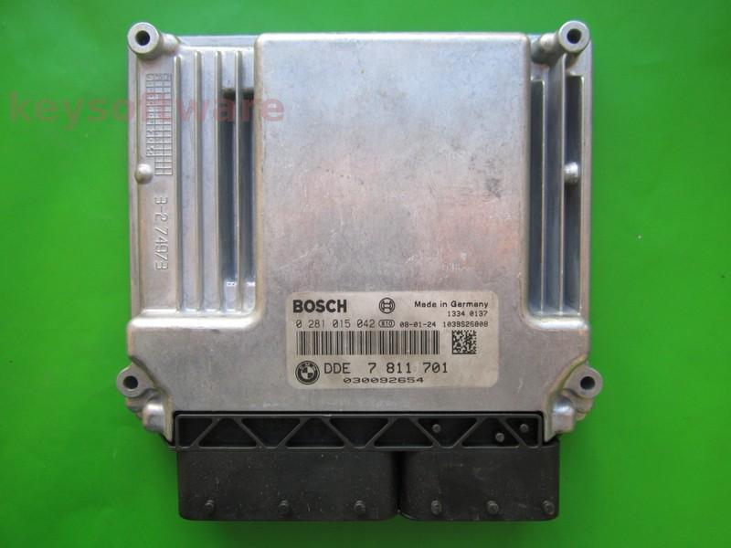 ECU Bmw 318D DDE7811701 0281015042 EDC17CP02 E90