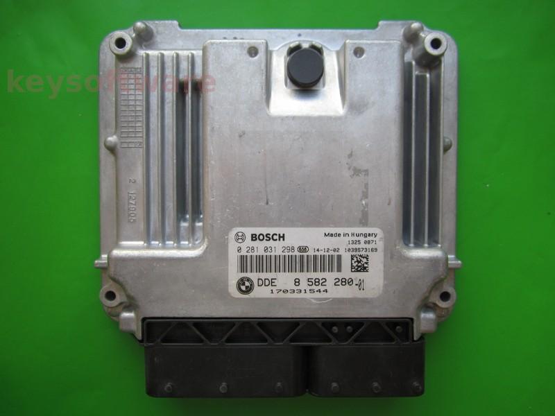 ECU Bmw 116D DDE8582280 0281031298 EDC17C50 F20