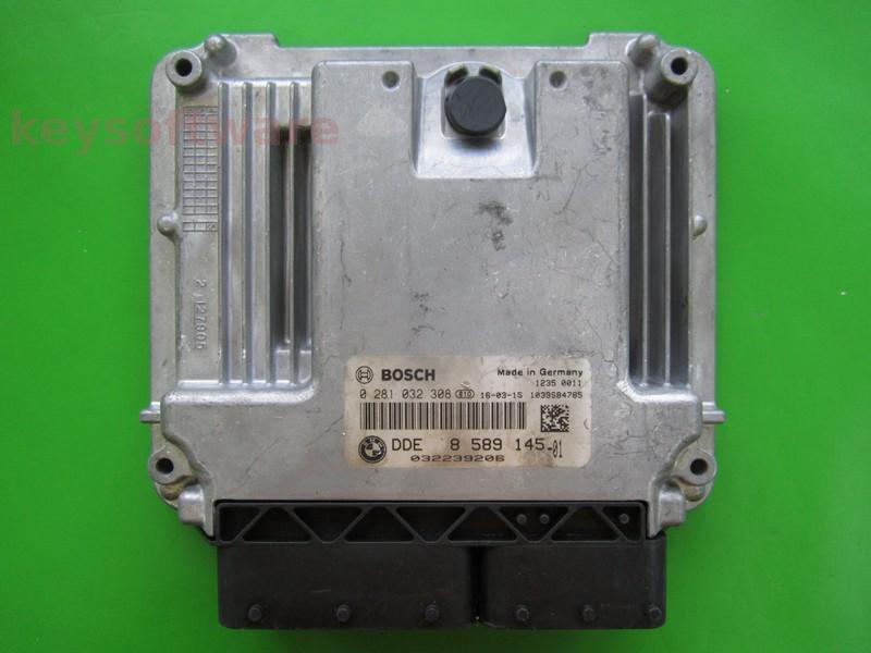 ECU Bmw 116D DDE8589145 0281032308 EDC17C50 F20